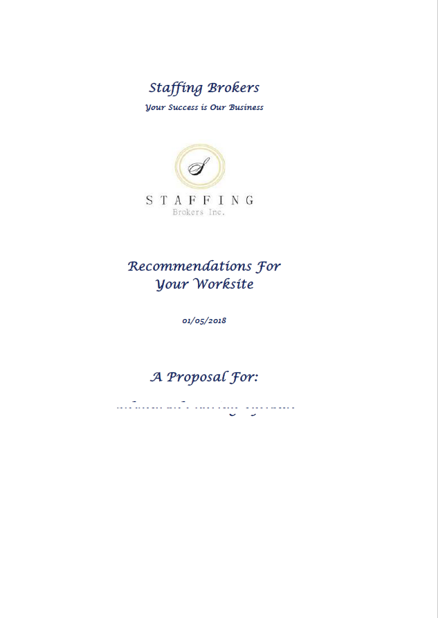Customers Projects - Insurance Proposal