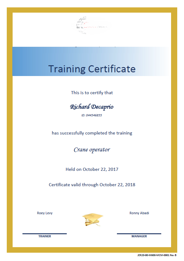 Customers Projects - Training, Competency & Certifications System